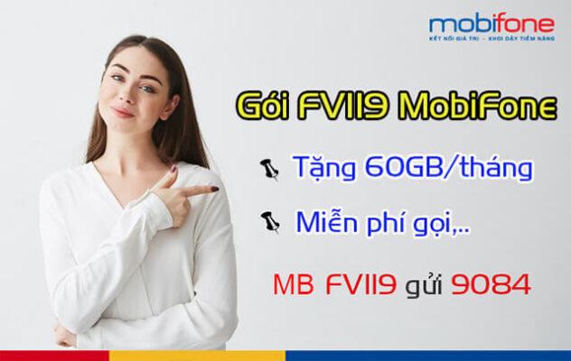 Đăng ký các gói FV119 Mobifone