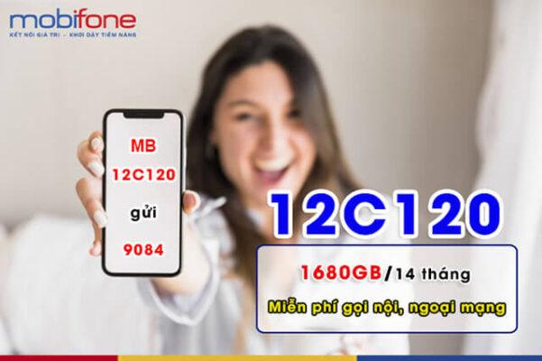 Đăng ký gói 12C120 Mobifone