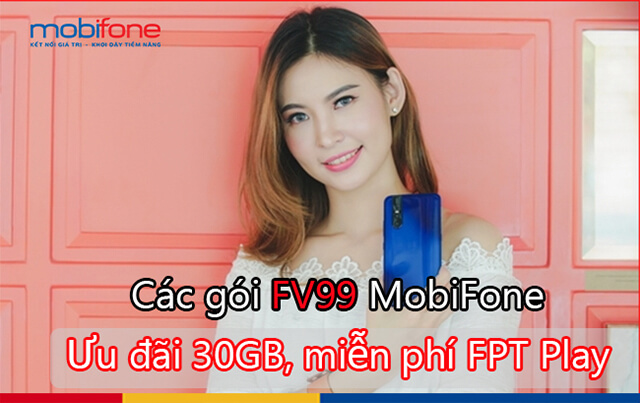 Đăng ký gói 12FV99 Mobifone