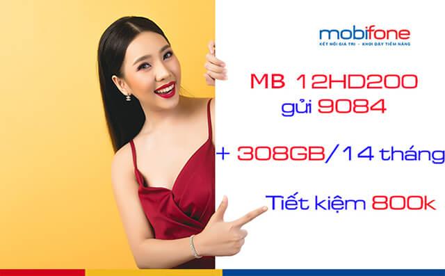 Đăng ký gói 12HD200 Mobifone