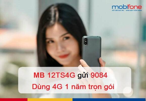 Đăng ký gói 12TS4G Mobifone
