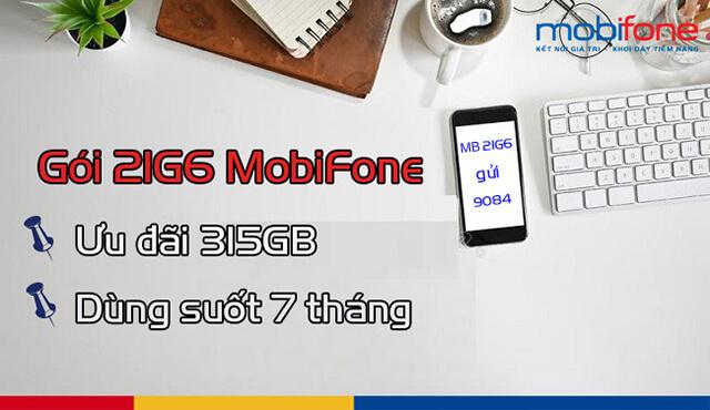 Đăng ký gói 21G6 Mobifone