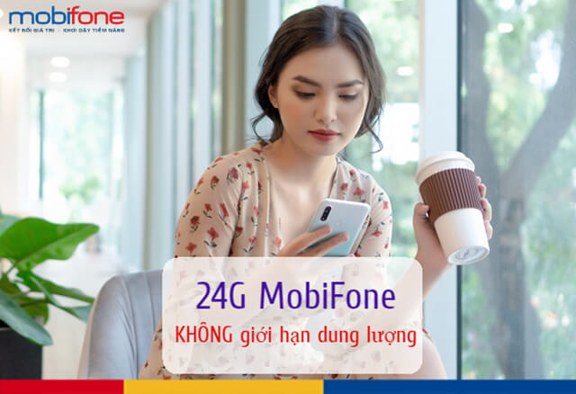 Đăng ký gói 24G Mobifone