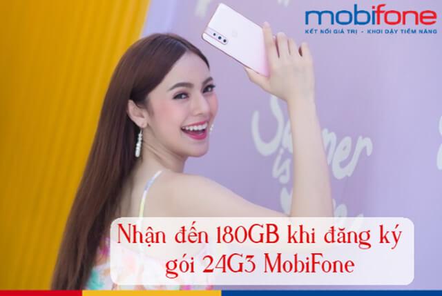 Đăng ký gói 24G3 Mobifone
