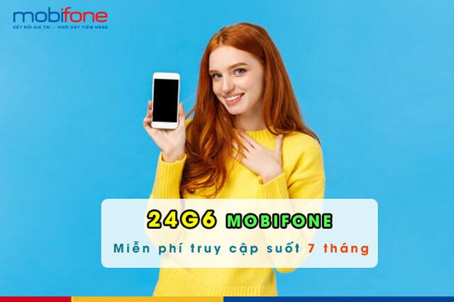 đăng ký gói 24G6 Mobifone