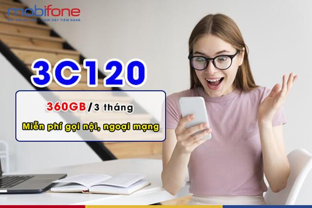 Đăng ký gói 3C120 Mobifone
