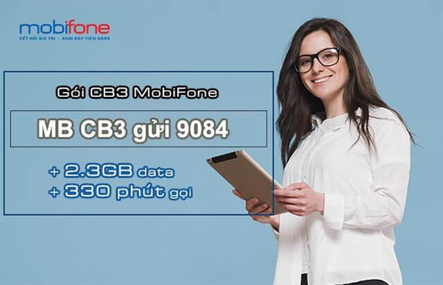 hướng dẫn đăng ký gói cb3 mobifone