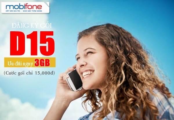 Hướng dẫn đăng ký gói D15 Mobifone