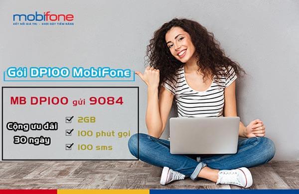 hướng dẫn đăng ký gói DP100 Mobifone