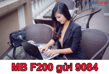 Hướng dẫn đăng ký gói f200 Mobifone