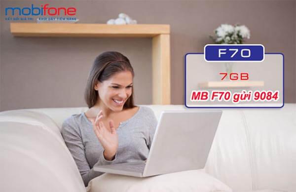 Hướng dẫn đăng ký gói F70 Mobifone
