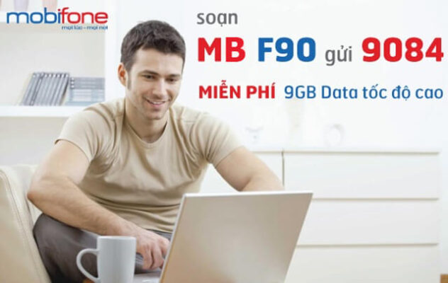 Đăng ký gói F90 Mobifone