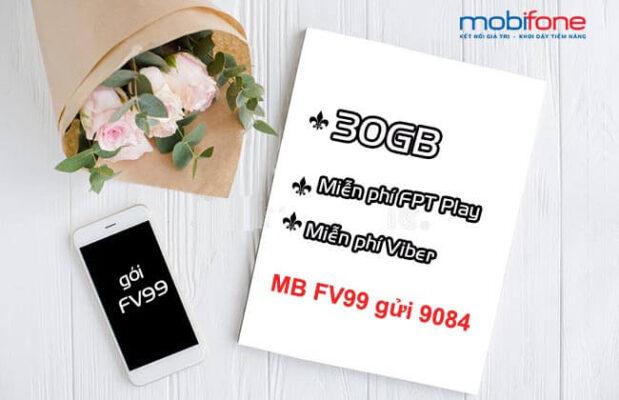 Hướng dẫn đăng ký gói FV99 Mobifone