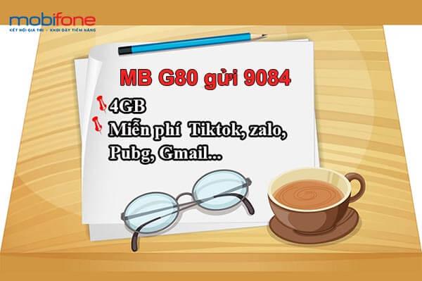 Hướng dẫn đăng ký gói G80 Mobifone