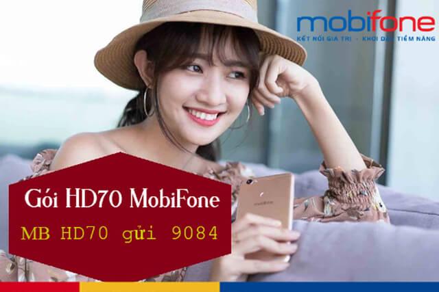 Đăng ký gói HD70 Mobifone