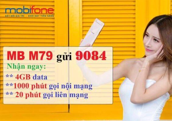 cách đăng ký gói M79 Mobifone