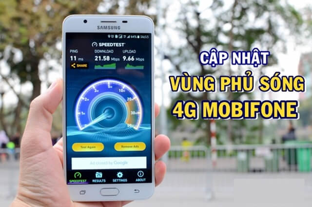 Vùng phủ sóng 4g mobifone tại TPHCM