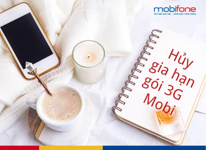 Cách hủy 3G Mobifone