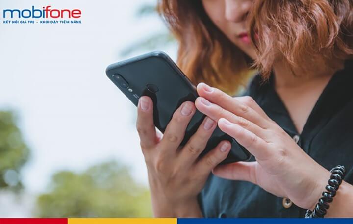 Đăng ký nhận tin nhắn khuyến mãi Mobifone