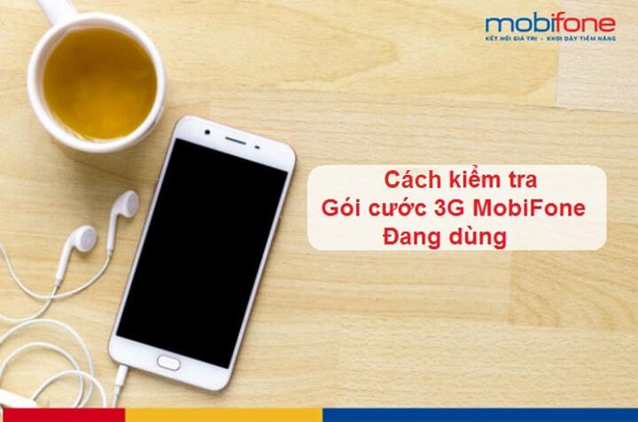 Kiểm tra gói cước 3g Mobifone