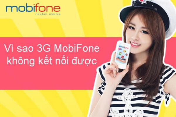 Sim 3g Mobifone không vào được mạng