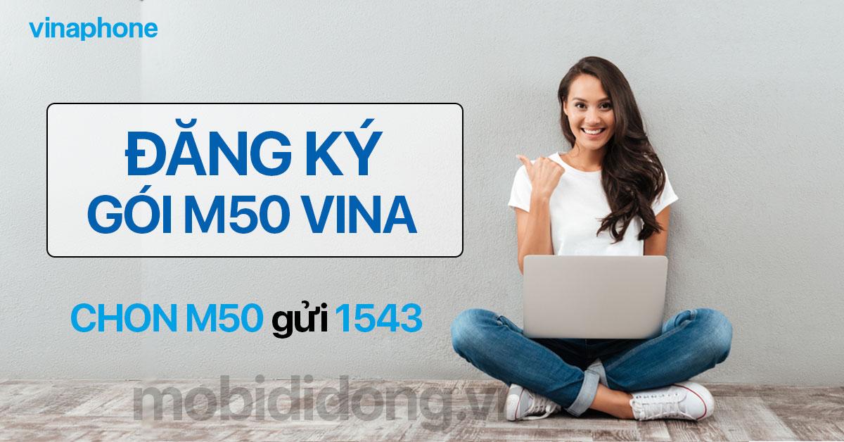 Cách đăng ký gói M50 Vina