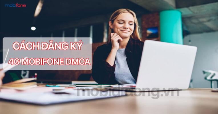 Cách đăng ký 4g MobiFone DMCA